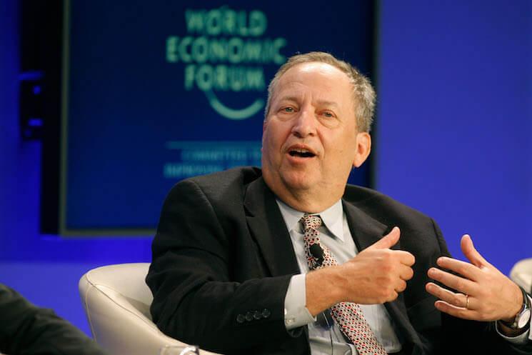 Photo of former U.S. Treasury Secretary Larry Summers.