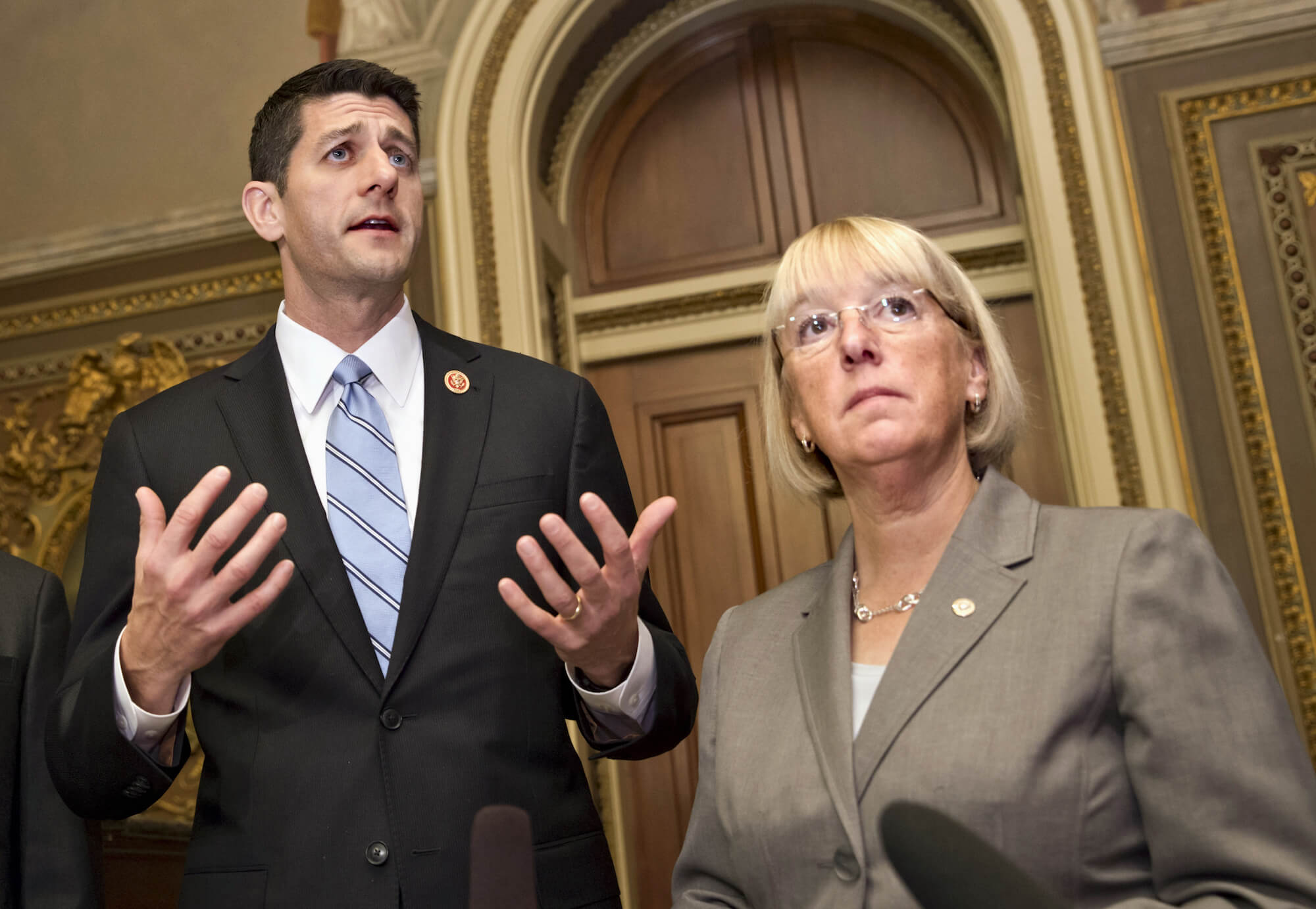 The Commission on Evidence-Based Policymaking was formed in response to a bill sponsored by Speaker of the House Paul Ryan and Senator Patty Murray (AP Photo/ Scott Applewhite, File)