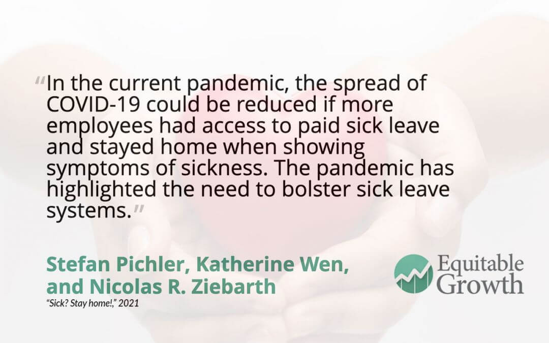 Quote from Nicolas Ziebarth and co-authors on paid sick leave